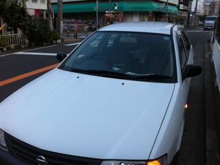 川崎市幸区のカギトラブルで、日産車のインロック開錠しました。